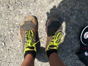 They looked even better after a whirl in the stream crossings and mud!