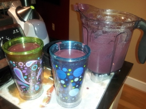 Pretty in purple!  Hello antioxidants!