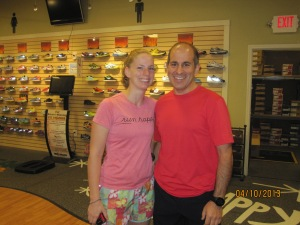 Isabel, The Running Teacher and Phil!